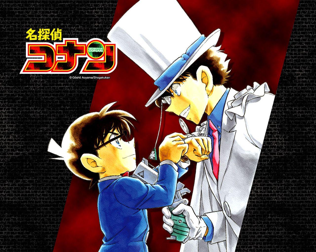 まじっく快斗, 怪盗キッド(Phantom Thief Kid)&名探偵コナン ...