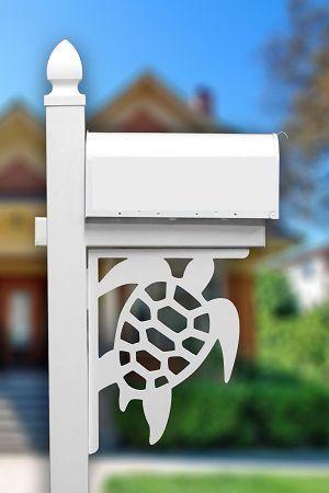 sea turtle mailbox porch corner