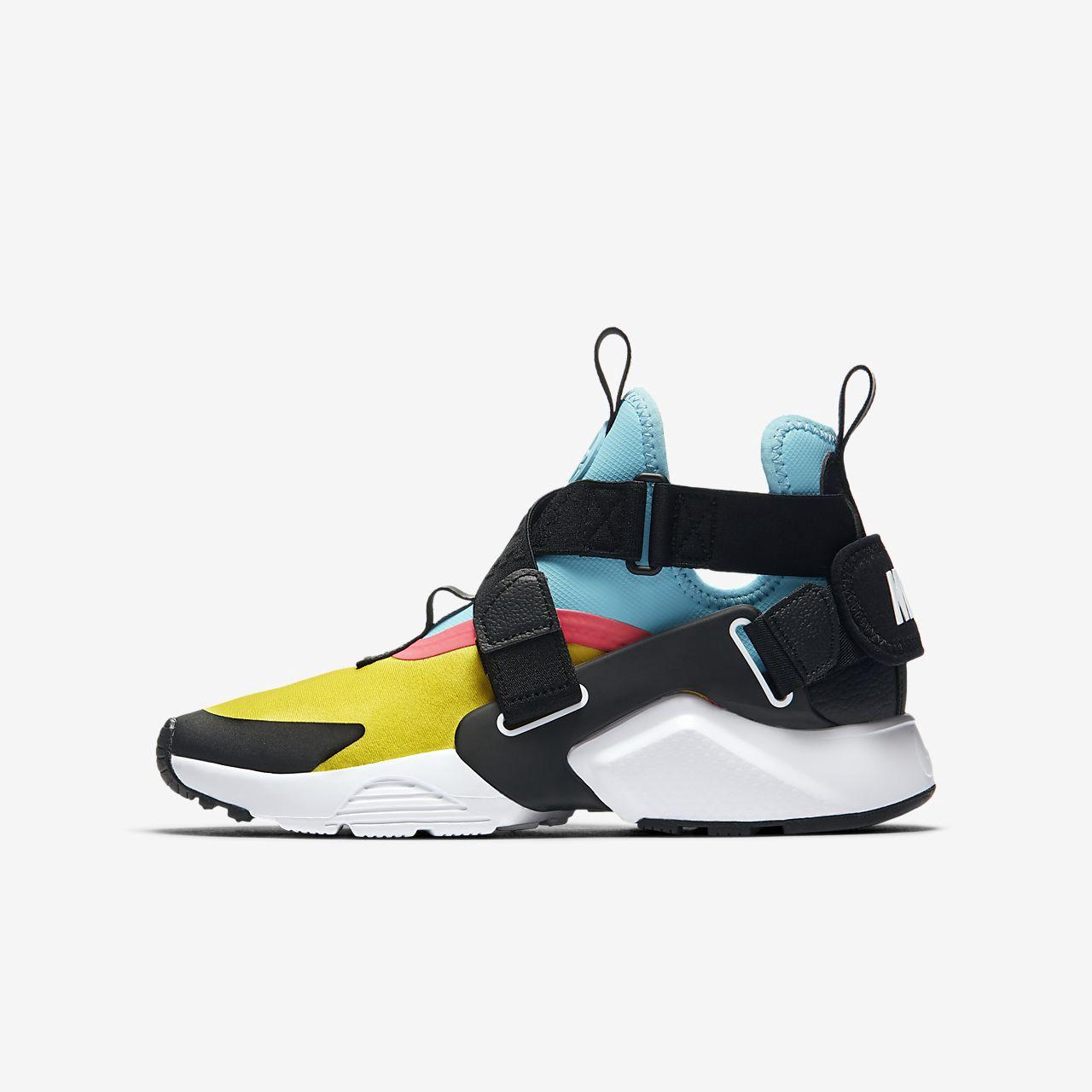 Nike Huarache City Big Kids' Shoe - 6.5Y | Nike huarache city ...