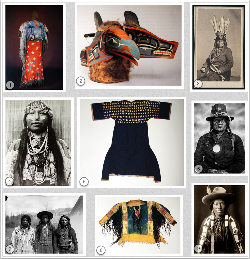 Mood Board for Native American inspired fashion: ghost dance dress ...