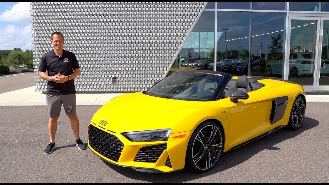 2020 Audi R8 V10 Spyder in 2020 Audi r8 spyder, Audi r8