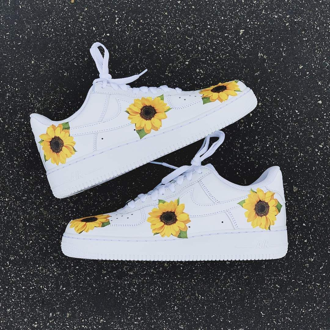 buy \u003e custom sunflower nikes, Up to 70% OFF