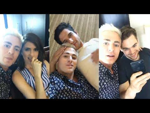 Teen Wolf Cast | Instagram Live Stream | 21 July 2017 Tyler Posey , Shelley Hennig & Colton Haynes - YouTube