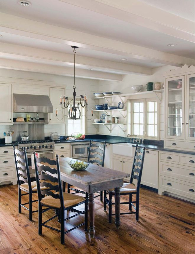 Farmhouse Kitchen Ideas My Natural Family Kitchen Cabinets And Countertops Home Kitchens Kitchen Remodel