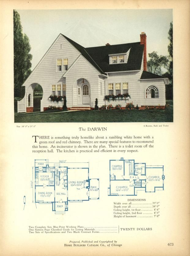 home builders catalog plans of all types of sm house plans rh pinterest com 1910 House 1930s House Interiors