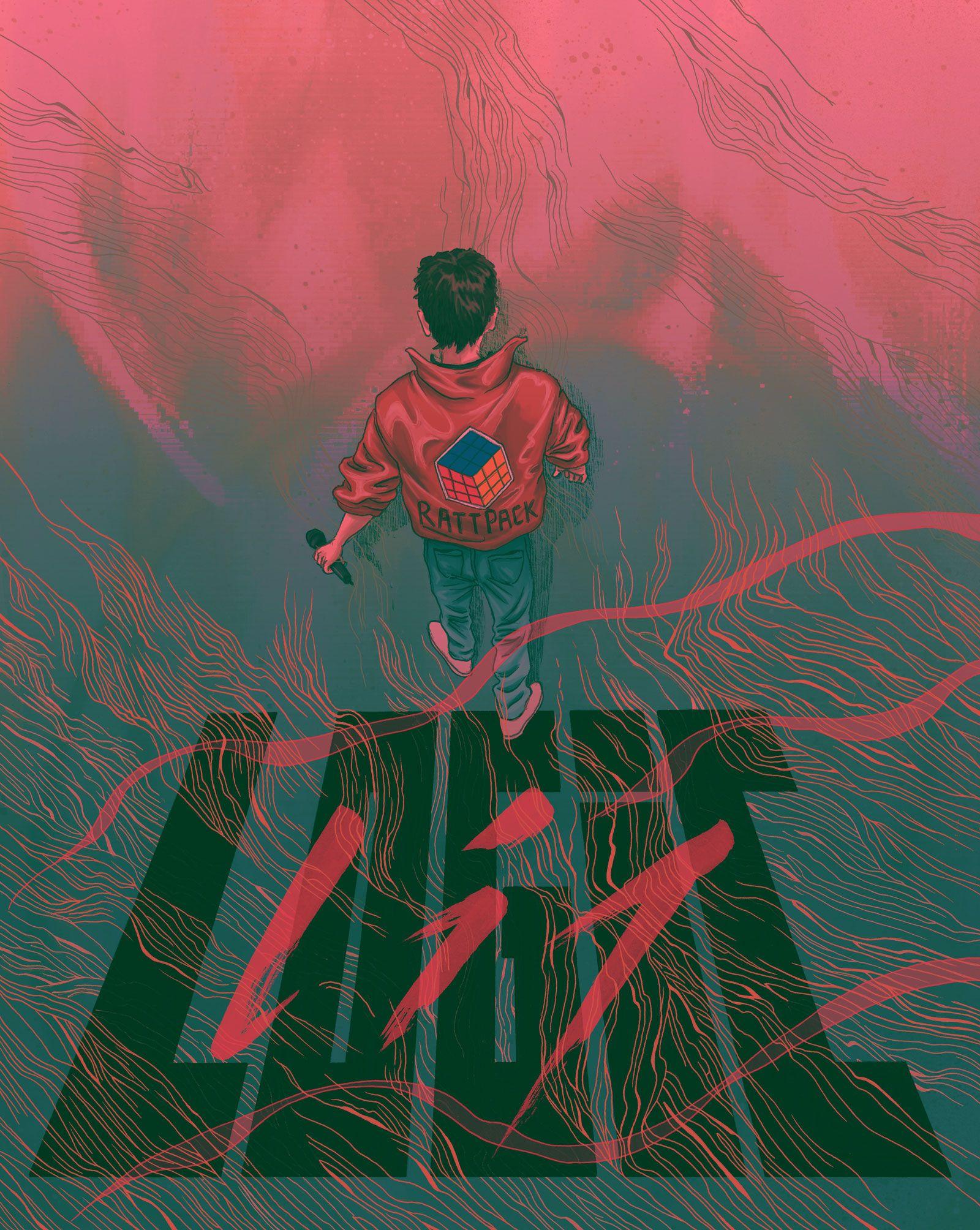Logic Rapper Night Illustrated by Dom Tsoi Logic ️
