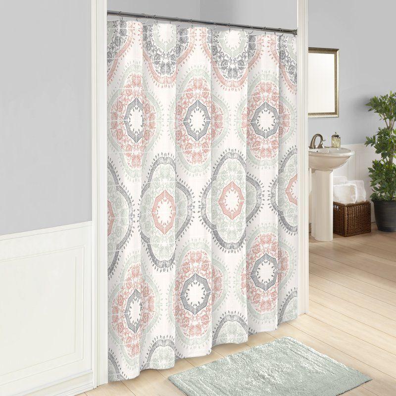Fairfield 100 Cotton Shower Curtain Girl S Bathroom Printed
