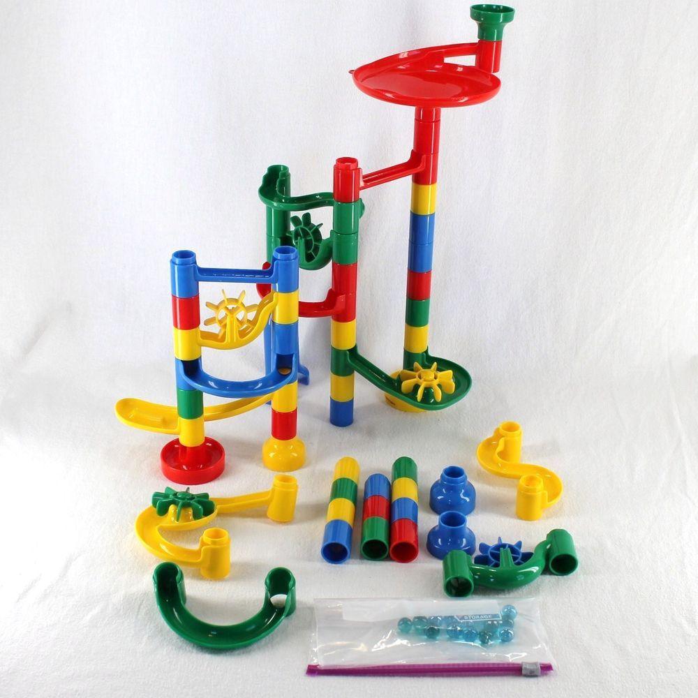 Mindware Marble Run 53 Pieces Track Race Maze Mindware Marblerun Marble Run Toys Spunky