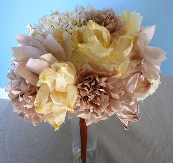 Tissue Paper Flower Bouquet : wedding bouqet bouquet diy flowers ...