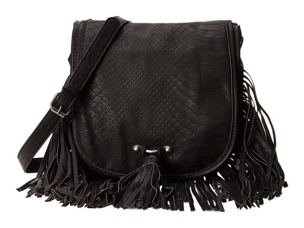 Steve Madden Adjustable Crossbody Bag Handbag  w/ fringe - New Authentic #SteveMadden #CrossBody