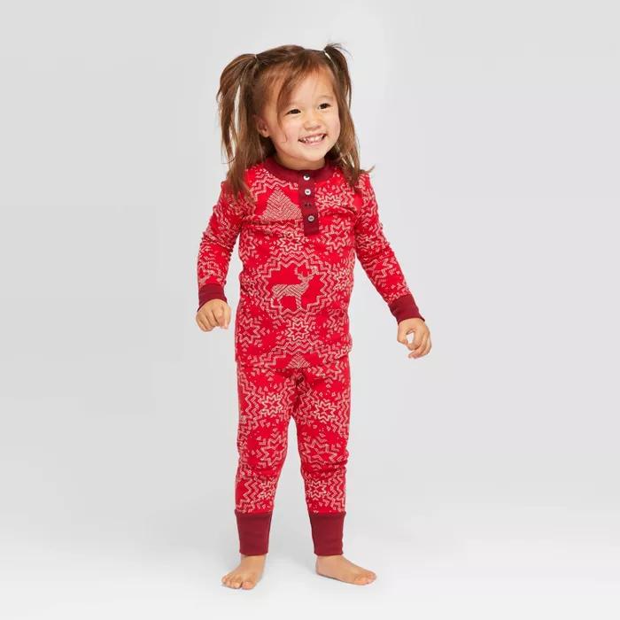 Toddler Holiday Snowflake Pajama Set Hearth & Hand™ With