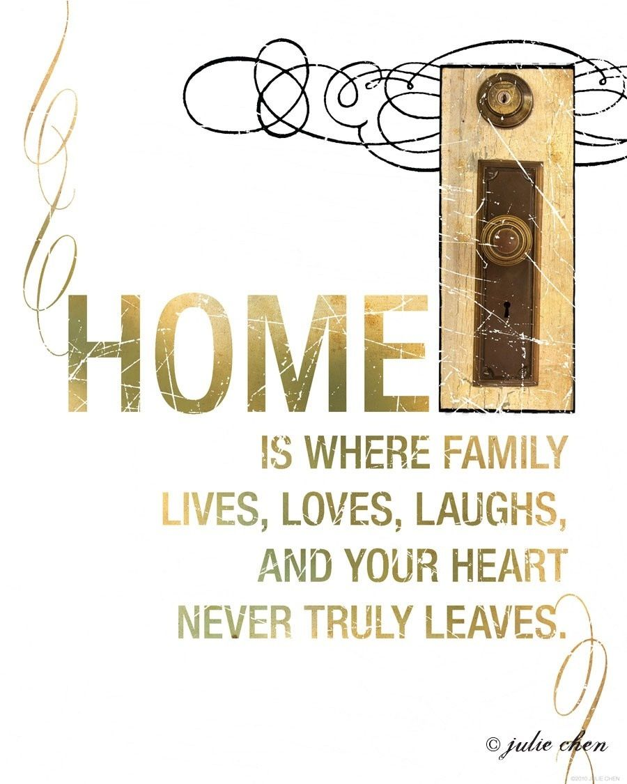 Home and family: a selection of quotes