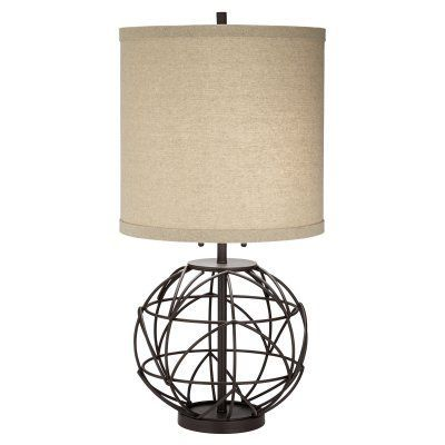Pacific Coast Lighting Alloy Globe Table Lamp   Products