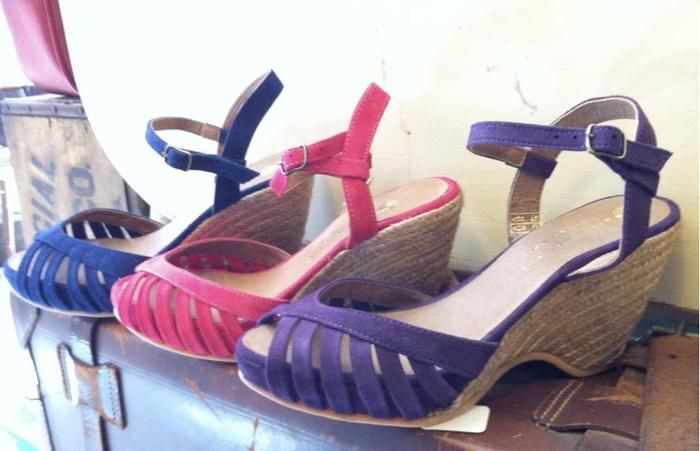 Summer Sandals  by Eric Michael  at Dusty Buttons - NYC