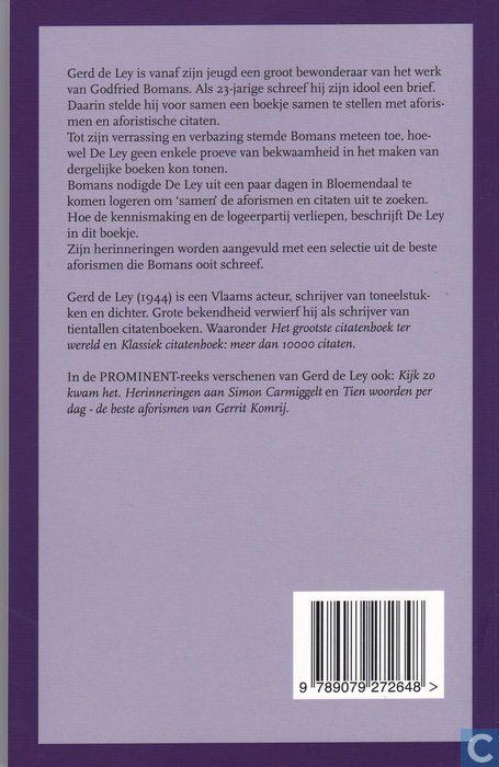 Boeken - Bomans, Godfried - Bomans in pyjama