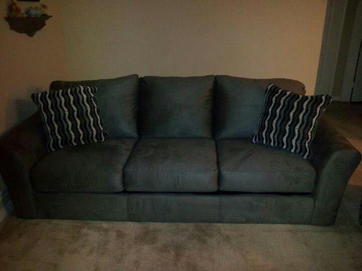 FOR SALE!!!!!!! $200...Ashley Furniture microfiber grey ...