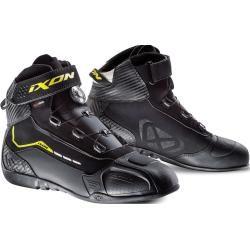 Photo of Ixon Soldier Evo Motorcycle Shoes Black Yellow 46 Ixon