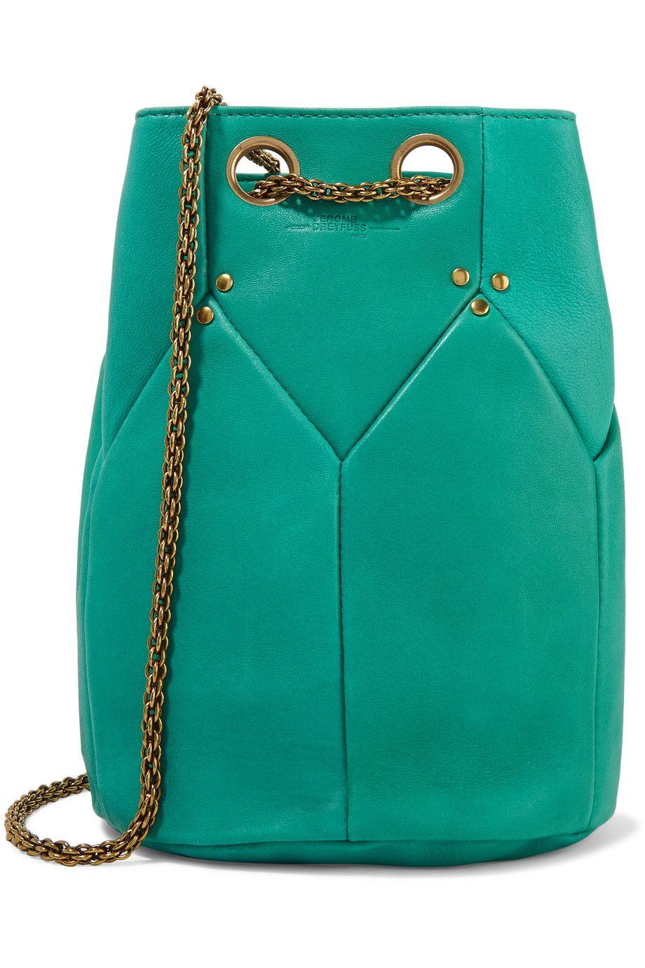 553eec7ab2 Shop on-sale Jérôme Dreyfuss Popeye leather shoulder bag. Browse other  discount designer Shoulder