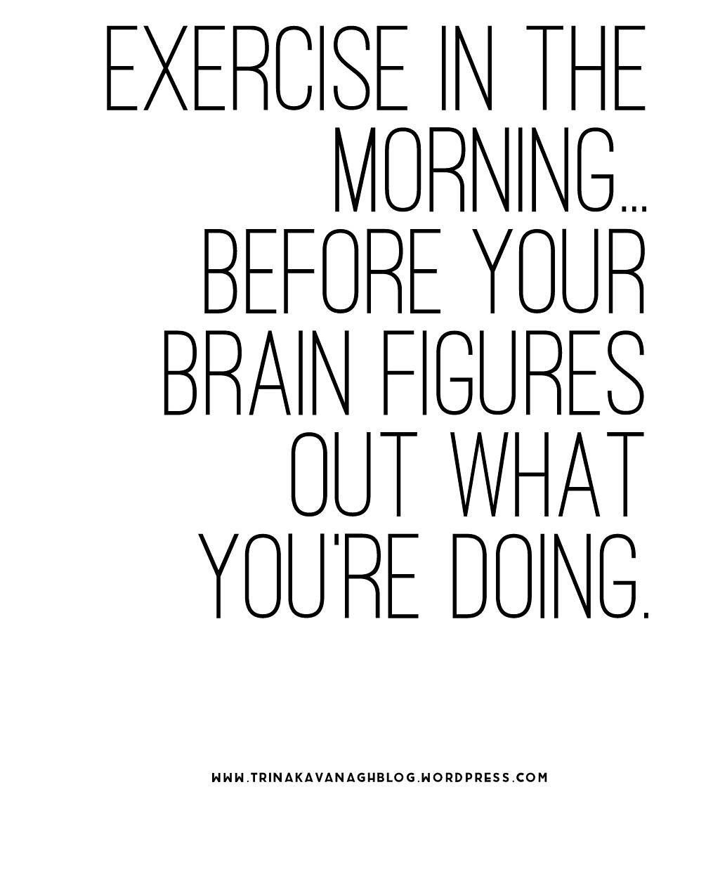 Morning Workout Quotes Monday Workout Quotes  Popsugar Fitness  Inspirational Fitness