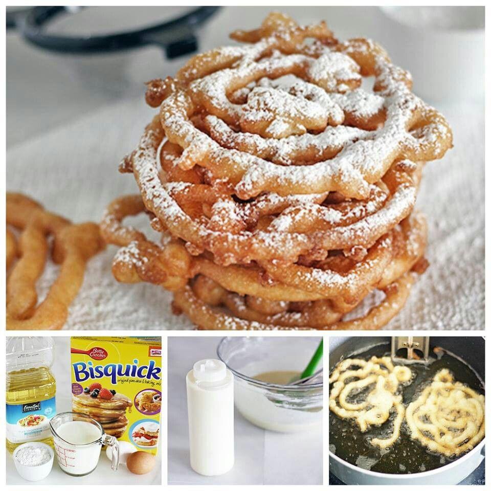 funnel cake recipe bisquick pancake mix