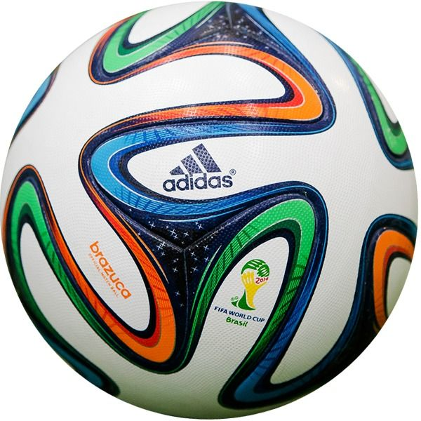 adidas Brazuca FIFA 2014 World Cup Official Match Soccer Ball - model G73617 3ac51d5518e8e