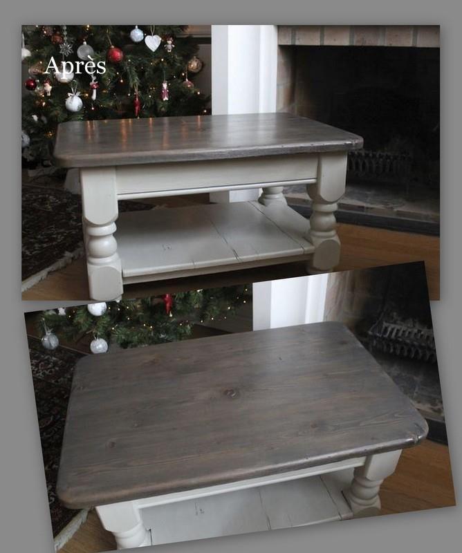 R sultat de recherche d 39 images pour table en pin repeinte maison pinterest salons flea - Table pour brocante ...