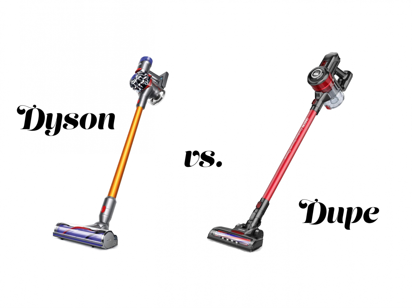 The Ultimate Affordable Dupe For The Iconic Cordless Dyson Vacuum Vacuums Dyson Dyson Cordless Vacuum
