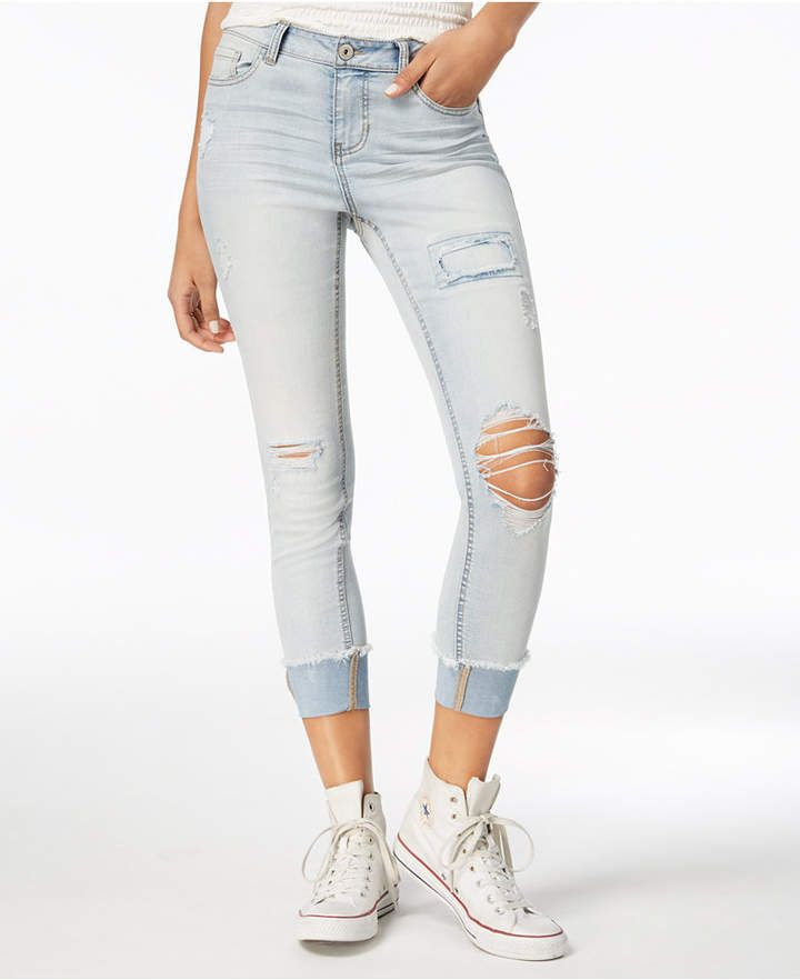 cadbe359aef8 Vanilla Star Juniors' Ripped Skinny Jeans | Products | Ripped skinny ...