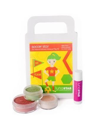 Organic Makeup For Kids Magnificent Soccer Star Natural Play Makeup 60 Piece Kit Organic Hair And