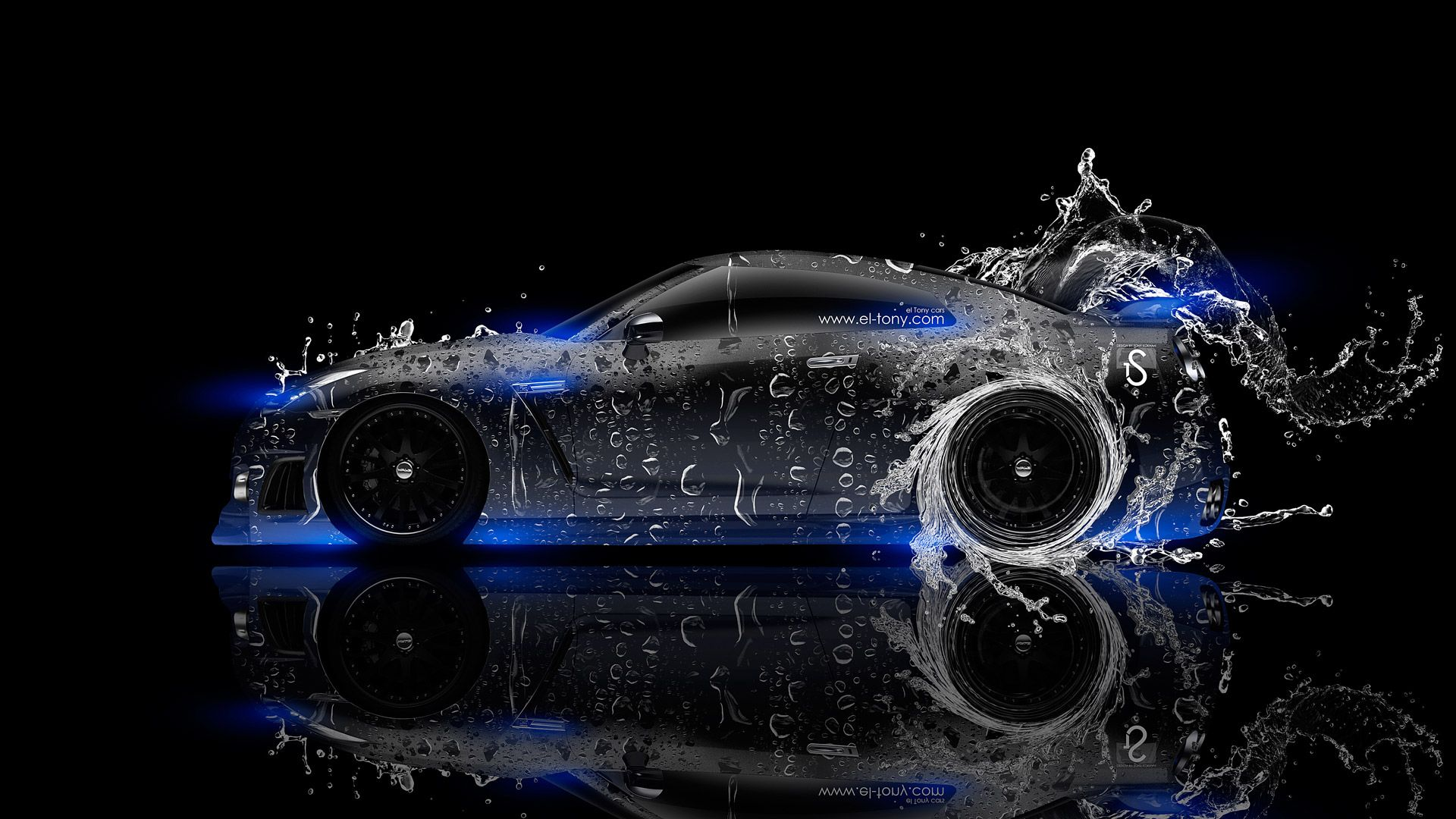 Beau Nissan GTR R35 Water Kiwi Car 2014 « El Tony