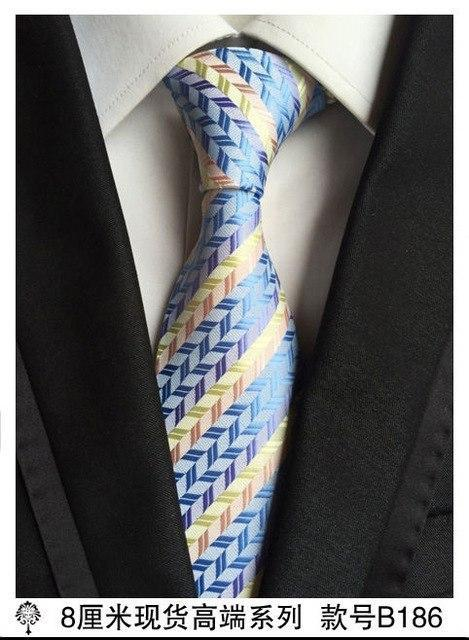 Green and Navy Blue Tie Patterned Handmade 8cm 100/% Silk Necktie