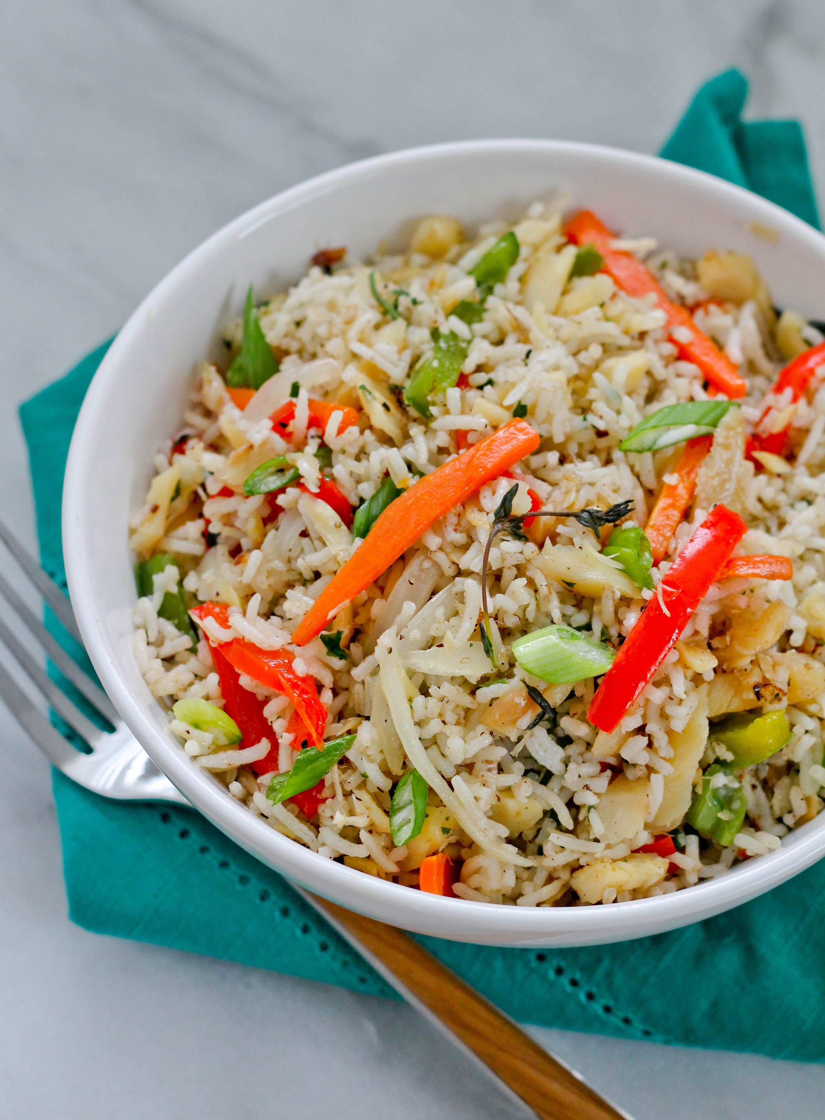 Saltfish fried rice is so full of flavor it is a combination of saltfish fried rice is so full of flavor it is a combination of salted cod ccuart Gallery