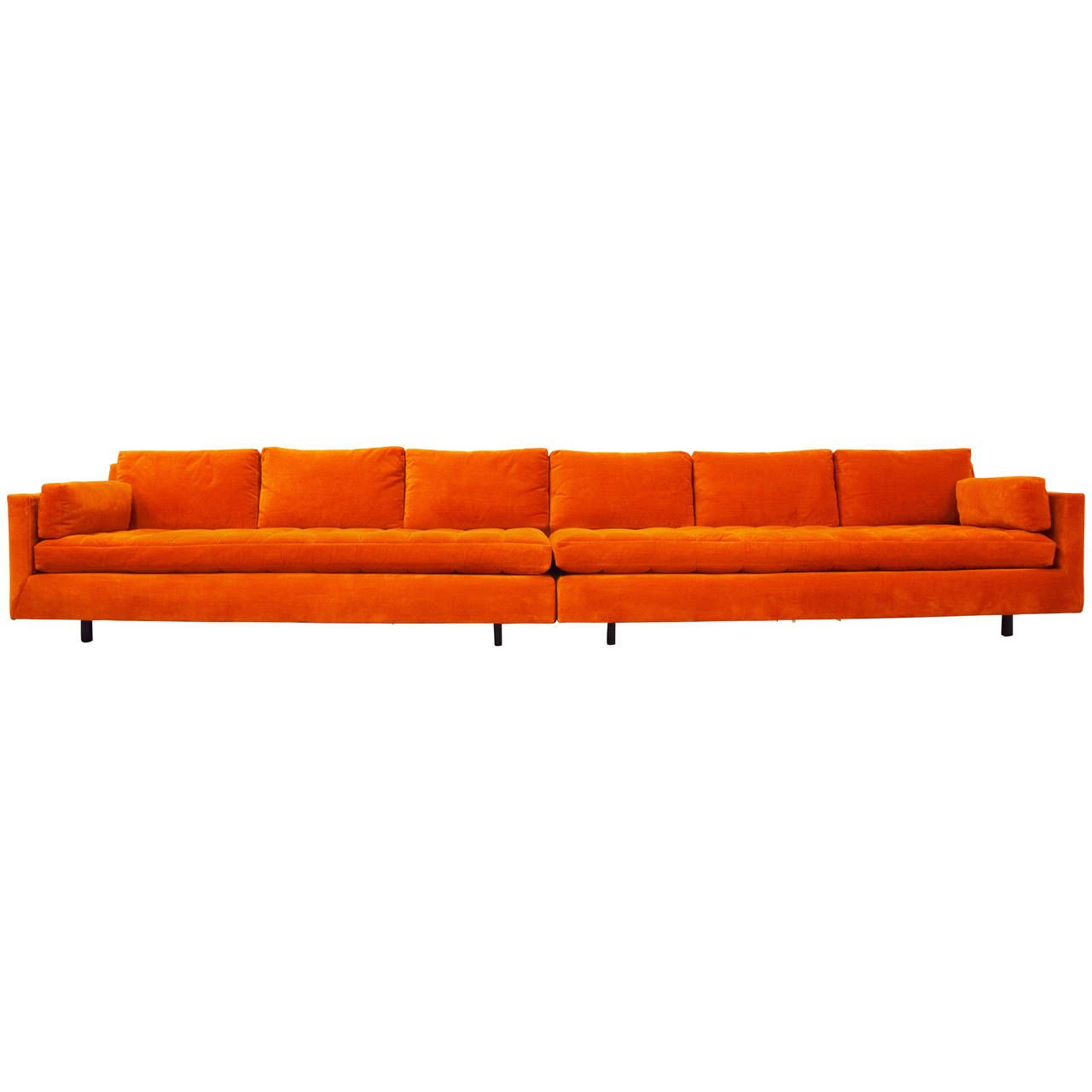 Sofa Sale Harveys Long Tufted Harvey Probber Sofa 1stdibs Fan Faves Sofa