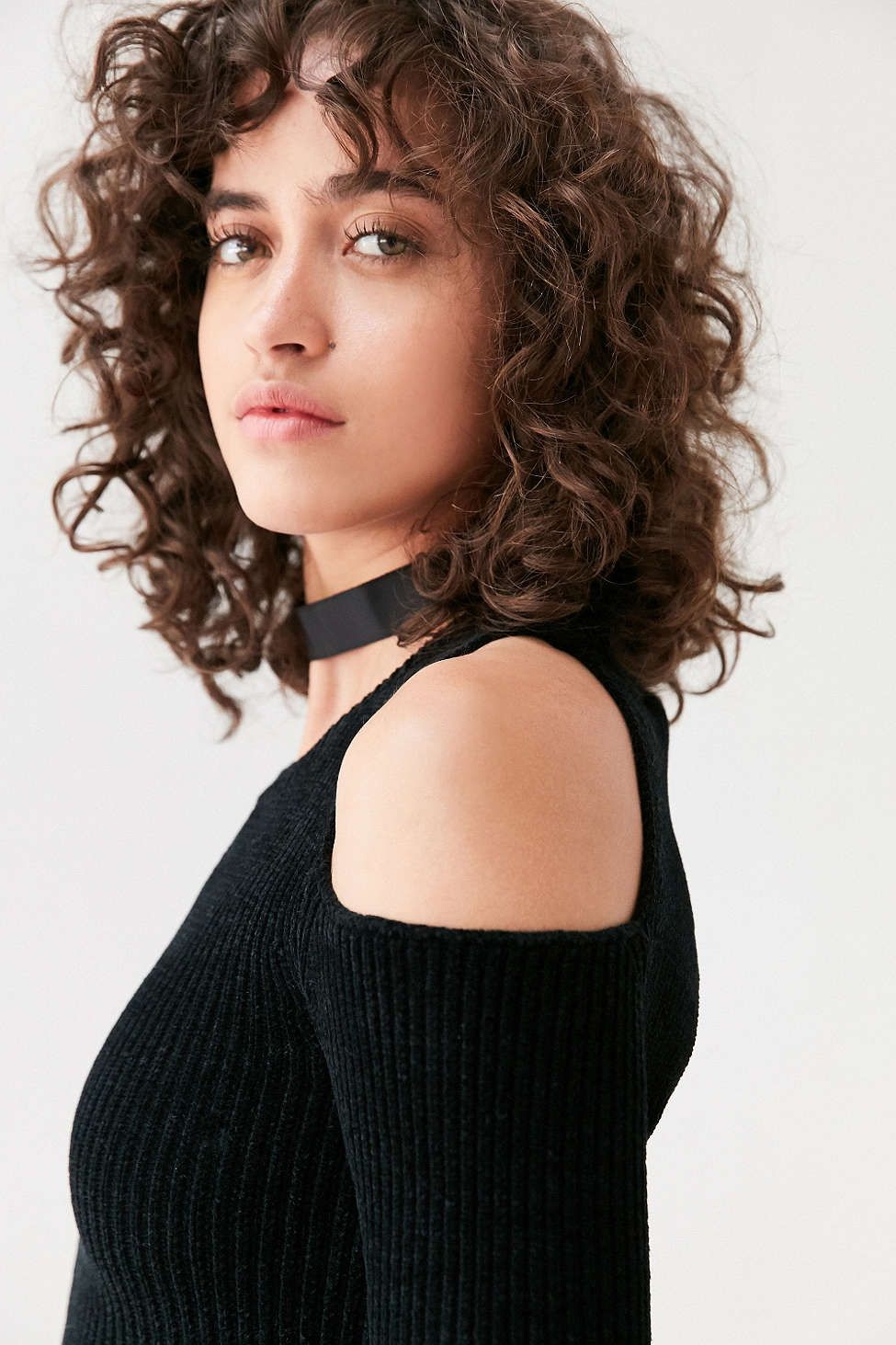curly bangs … Curly hair styles, Curly hair inspiration