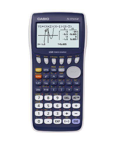 Casio Graphing Calculator Blue Fx9750gii By Casio 49 99