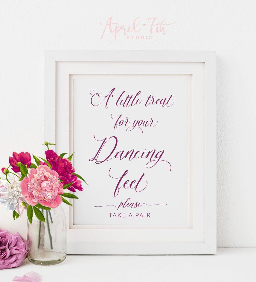 772fa67b8bc67b A little treat for your Dancing Feet sign
