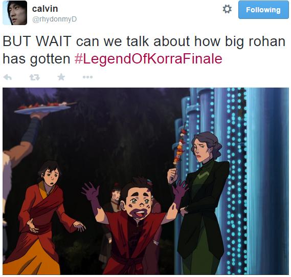 Korra Season 4: Rohan's Not So Little Anymore And Lin Looks Like She's So