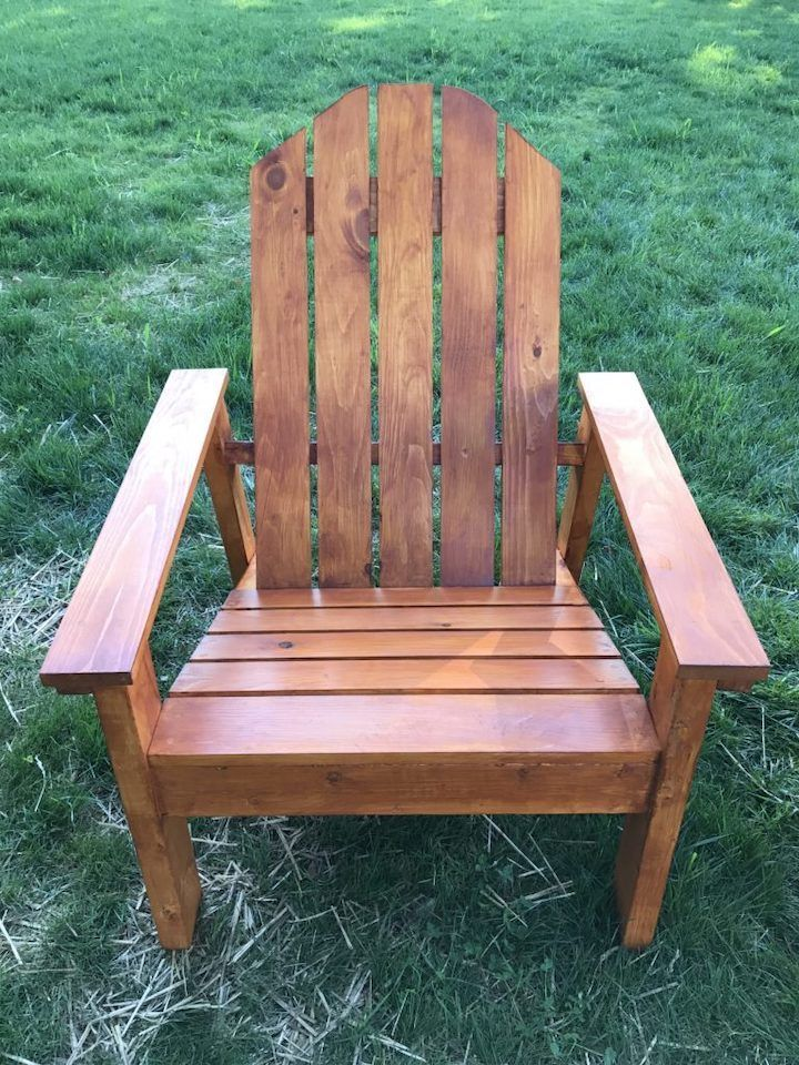 Adirondack Chair Plans (StepbyStep Instructions in 2020