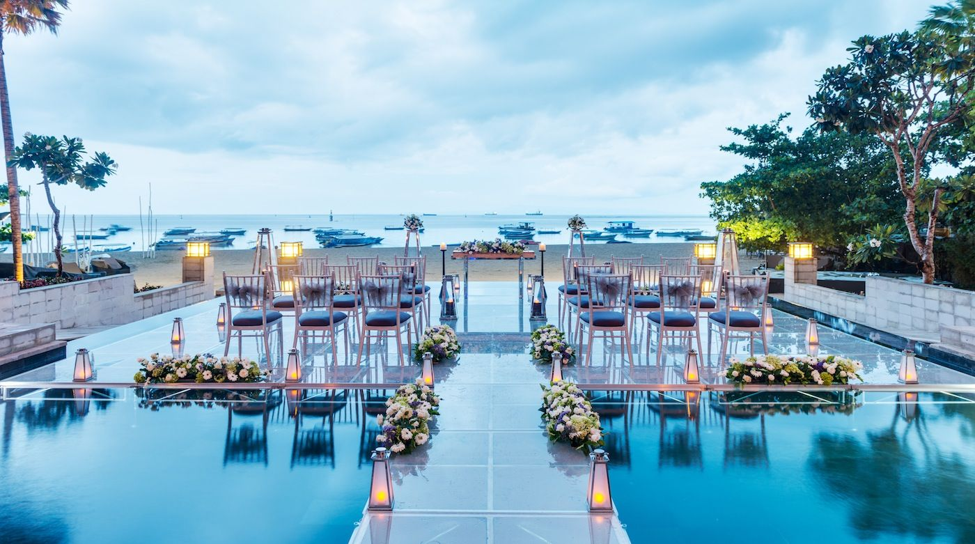 Fancy walking on water down the aisle for your special day