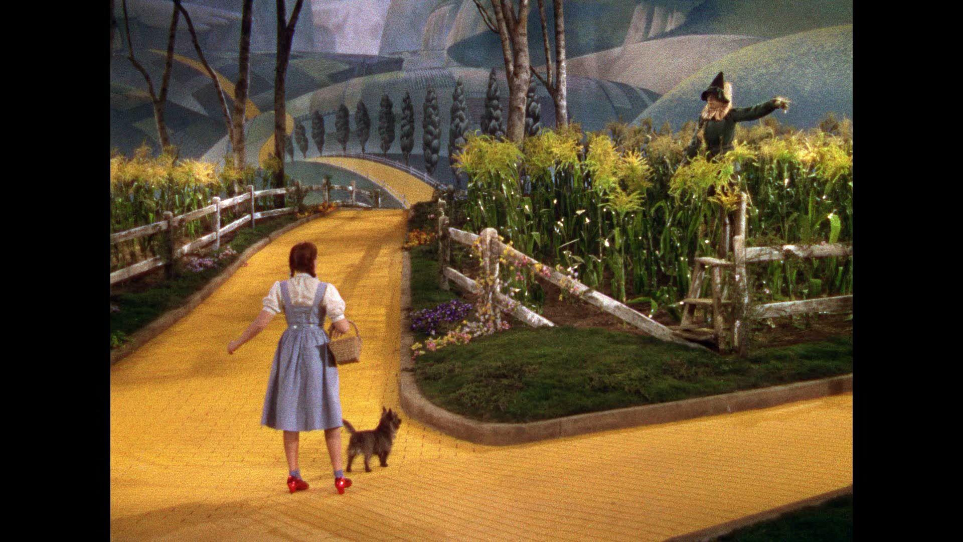 yellow brick road movie dorothy