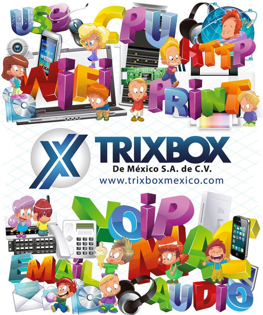 En #TrixboxMéxico encontrarás lo mejor en tecnología #FelizDíaDelNiño