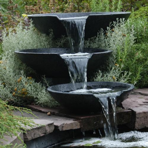 Fontaine de jardin Nova Scotia - Cascade 3 Vasques Nova Scotia ...