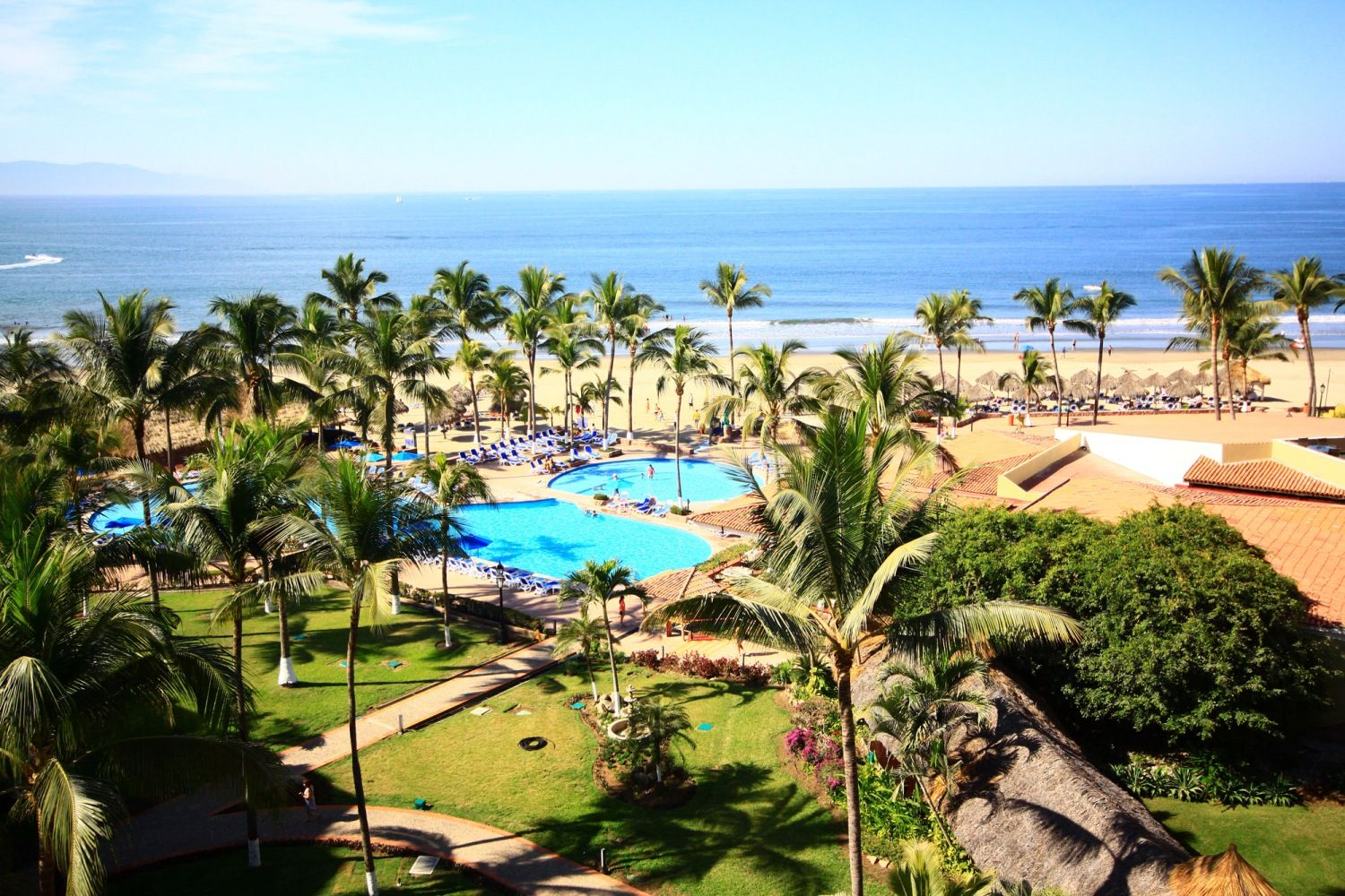 All inclusive occidental grand nuevo vallarta hotels resorts aerial puerto vallarta paradise