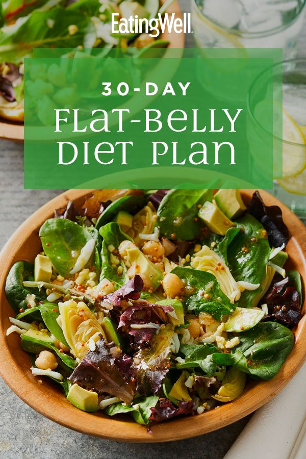 30-Day Flat-Belly Diet Plan – Carey&CleanEatingS