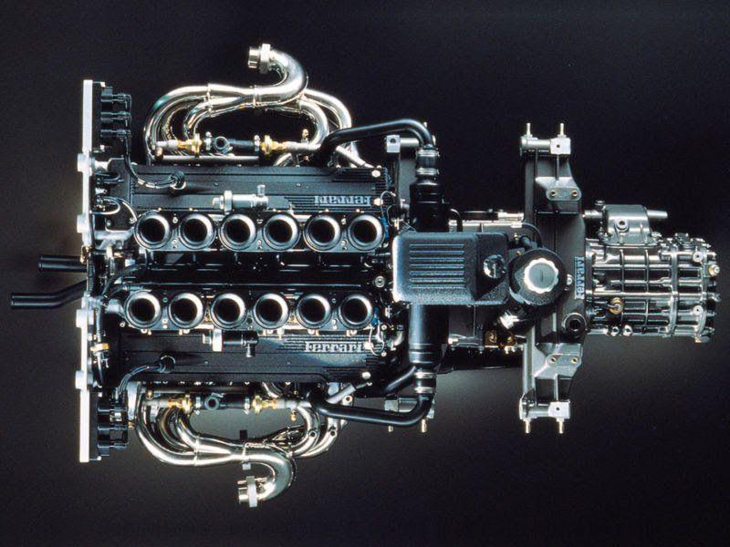 1995 1997 Ferrari F50 Engine Detail Cars Pinterest Ferrari