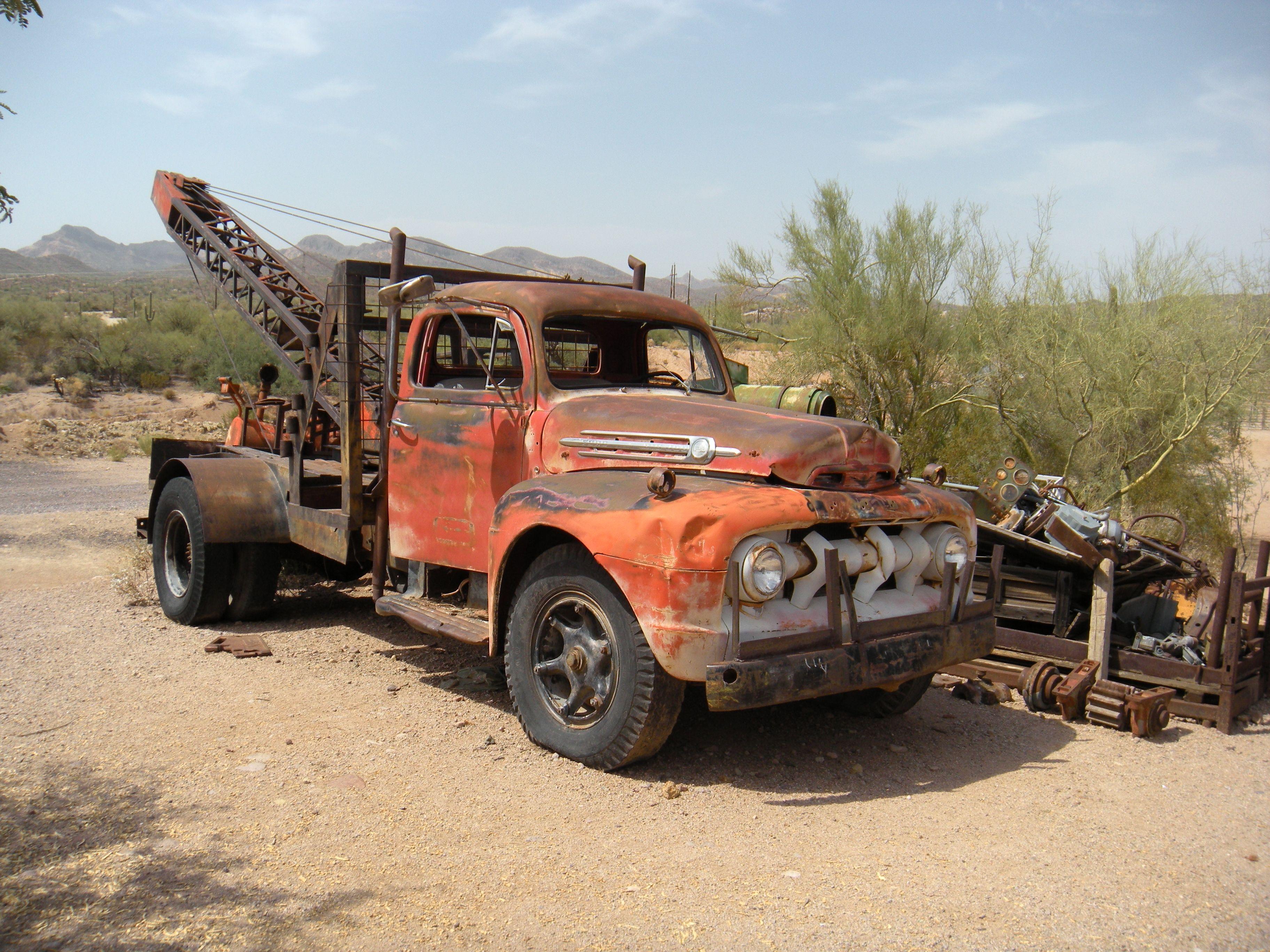 Classic trucks 1950 s tow truck