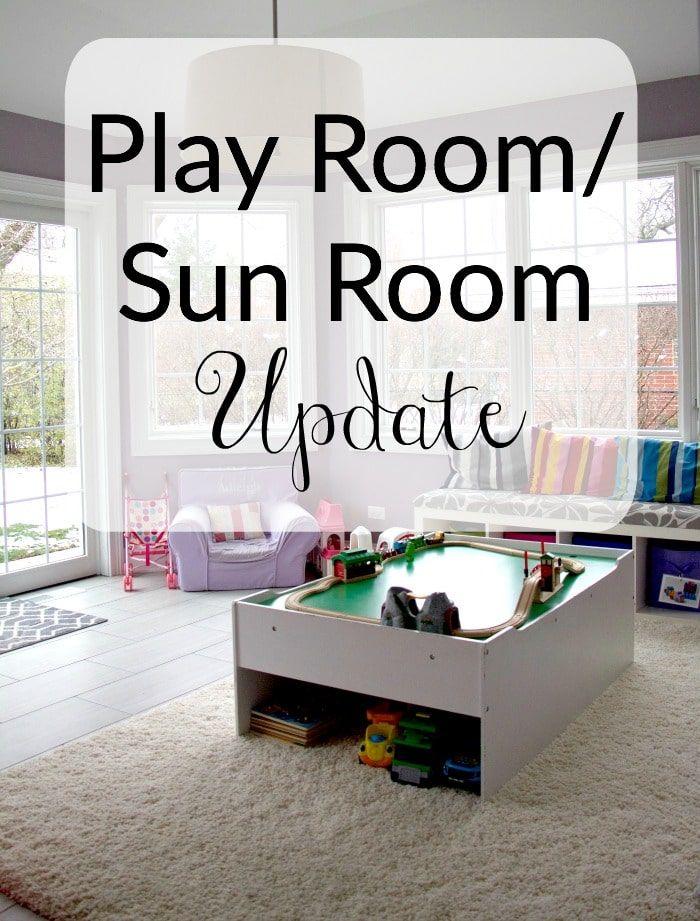 Play Room/Sun Room Update Playroom, Sunroom, Room update