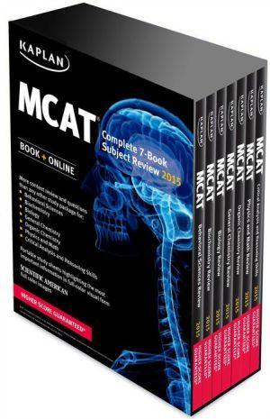 kaplan mcat complete 7 book subject review pdf