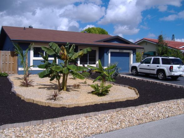 Design Front Yard Without Grass: No Grass Front Yard