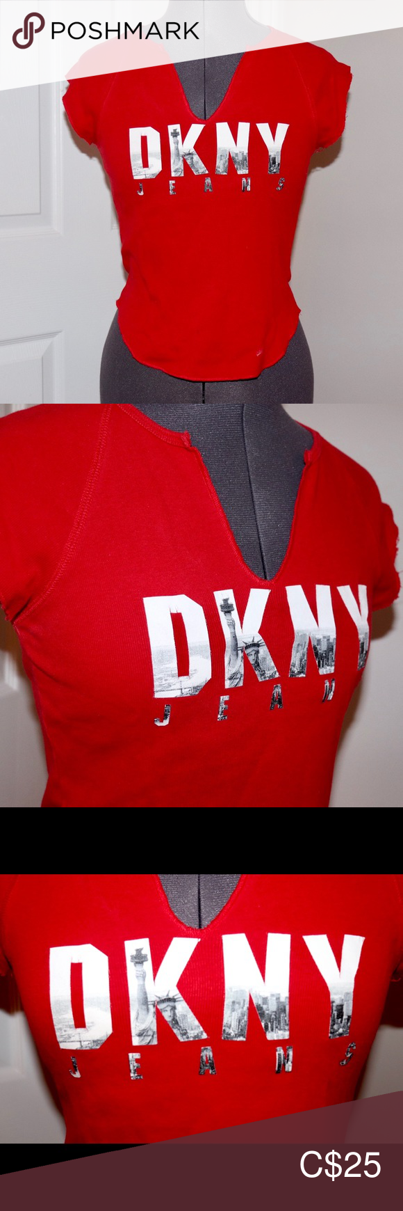 Vintage DKNY jeans New York tshirt From a smoke and pet